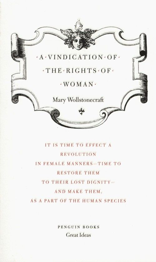 Mary wollstonecraft a vindication of the rights of women essays