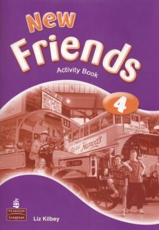 New Friends 4 Activity Book - Outlet - Liz Kilbey