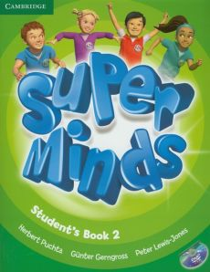 Super Minds 2 Student's Book +CD - Gunter Gerngross, Peter Lewis-Jones, Herbert Puchta