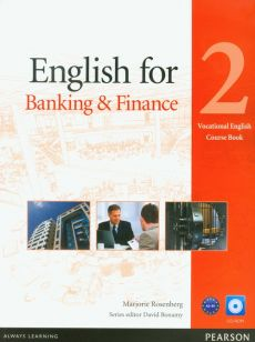 English for banking and finance 2 vocational english course book with CD-ROM - Marjorie Rosenberg