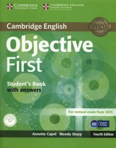 Objective First Student's Book with Answers + CD - Annette Capel, Wendy Sharp
