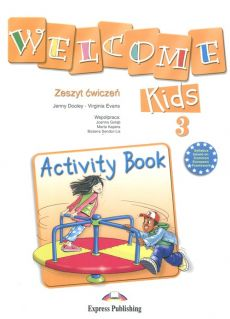 Welcome Kids 3 Activity Book - Outlet - Jenny Dooley, Virginia Evans