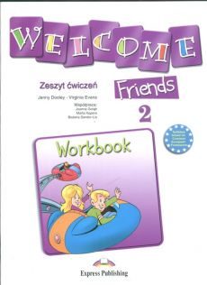 Welcome Friends 2 Workbook - Jenny Dooley, Virginia Evans