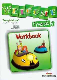 Welcome Friends 3 Workbook - Outlet - Jenny Dooley, Virginia Evans