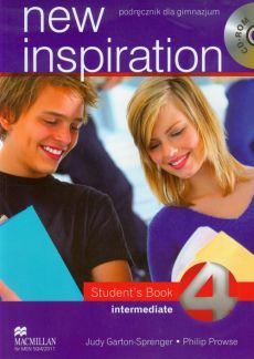 New Inspiration 4 Intermediate Student's Book + CD - Outlet - Philip Prowse, Judy Garton-Sprenger