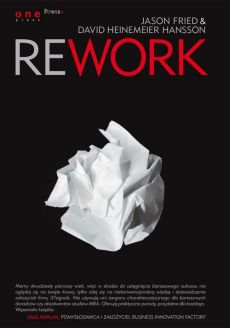 Rework - Jason Fried, Heinemeier Hansson David