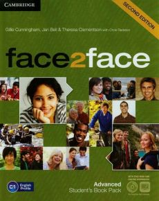 Face2face 2ed Advanced Student's Book z DVD - Outlet - Jan Bell, Theresa Clementson, Gillie Cunningham