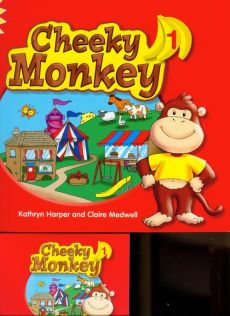 Cheeky Monkey 1 Pupil's Book with Multi-ROM - Kathryn Harper, Claire Medwell