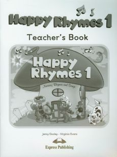 Happy Rhymes 1 Teacher's Book - Outlet - Jenny Dooley, Virginia Evans