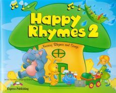 Happy Rhymes 2 Pupil's Book + CD + DVD - Virginia Evans, Jenny Dooley