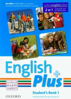 English Plus 1 Student's Book + kod do ćwiczeń online - Diana Pye, Jenny Quintana, Ben Wetz
