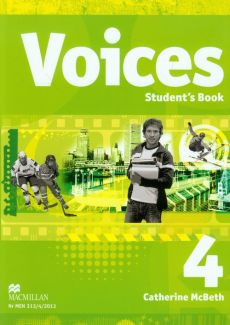 Voices 4 Student's Book + CD - Outlet - Catherine McBeth