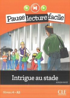 Intrigue au stade + CD - Outlet - Adrien Payet