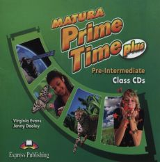 Matura Prime Time Plus Pre-intermediate Class CDs + Workbook&Grammar CD - Jenny Dooley, Virginia Evans