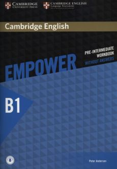 Empower Pre-Intermediate Workbook  without answers B1 - Peter Anderson