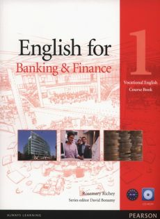 English for Banking & Finance 1 Course Book + CD - Rosemary Richey