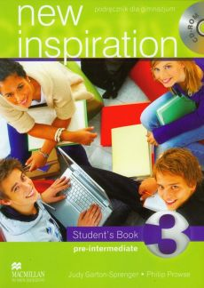 New Inspiration 3 student's book with CD - Judy Garton-Sprenger, Philip Prowse