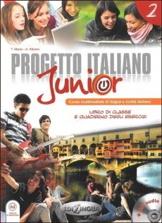 Progetto Italiano Junior 2 Podręcznik + CD - A. Albano, Telis Marin