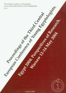 Proceedings of the Third Central European Conference of Young Egyptologists - Outlet