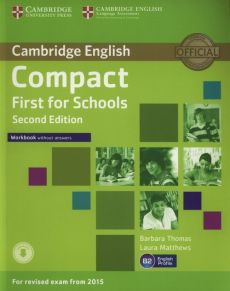Compact First for Schools Workbook - Laura Matthews, Barbara Thomas