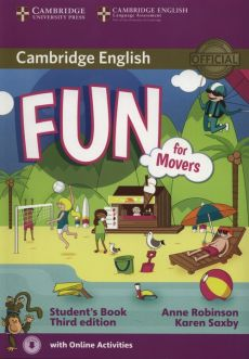 Fun for Movers Student's Book + Online - Anne Robinson, Karen Saxby