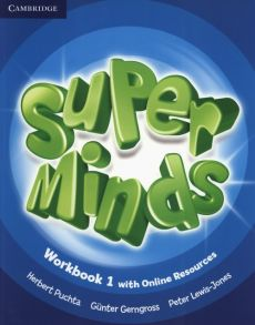 Super Minds 1 Workbook +Online - Gunter Gerngross, Peter Lewis-Jones, Herbert Puchta