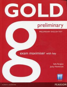 Gold Preliminary Exam Maximiser with key - Outlet - Sally Burgess, Jacky Newbrook