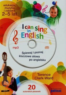 I can sing in English + CD - Terence Clark-Ward
