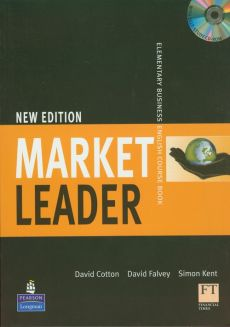 Market Leader New Elementary Business English Course Book z płytą CD - Outlet - David Cotton, David Falvey, Simon Kent
