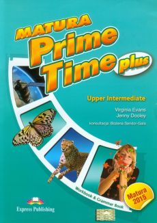 Matura Prime Time Plus Upper Intermediate Workbook and Grammar Book - Outlet - Jenny Dooley, Virginia Evans