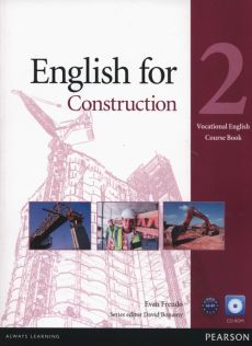 English for construction 2 Course book +CD - Evan Frendo