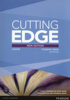 Cutting Edge Starter Students Book + DVD - Araminta Crace, Sarah Cunningham, Peter Moor, Chris Redston