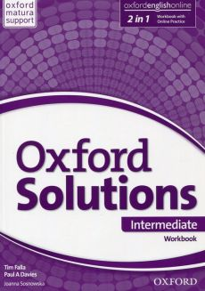 Oxford Solutions Intermediate Workbook with Online Practice - Davies Paul A., Falla Tim