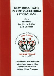 New directions in cross-cultural psychology - Paweł Boski