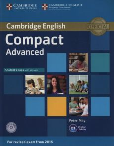 Compact Advanced Student's Book with answers + CD - Peter May