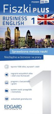 Angielski Fiszki PLUS Business English 1