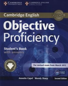 Objective Proficiency Student's Book with Answers - Annette Capel, Wendy Sharp