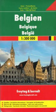 Belgia mapa 1:300 000 - Outlet