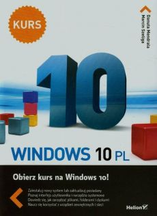 Windows 10 PL Kurs - Outlet - Marcin Szeliga, Danuta Mendrala