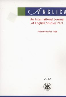 Anglica An International Journal of English Studies 21/1 2012