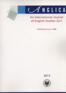 Anglica An International Journal of English Studies 22/1 2013