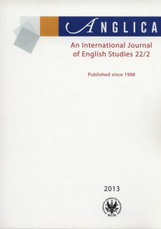 Anglica An International Journal of English Studies 22/2 2013