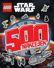 Lego Star Wars 500 naklejek - Outlet