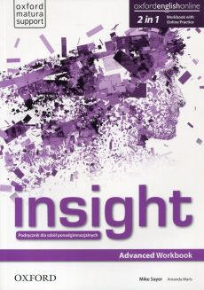 Insight Advanced Workbook with Online Practice - Mike Sayer