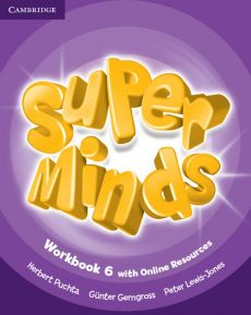 Super Minds 6 Workbook with Online Resources - Gunter Gerngross, Peter Lewis-Jones, Herbert Puchta