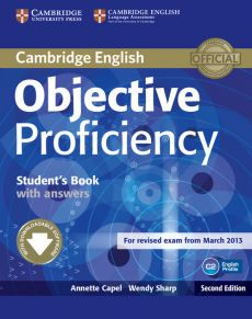 Objective Proficiency Student's Book with Answers - Capel Annette, Sharp Wendy