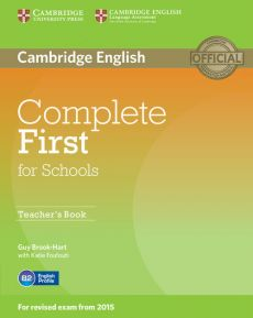Complete First for Schools Teacher's Book - Outlet - Guy Brook-Hart, Katie Foufouti