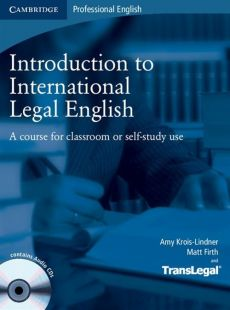 Introduction to International Legal English Student's Book + 2CD - Outlet - Matt Firth, Amy Krois-Lindner