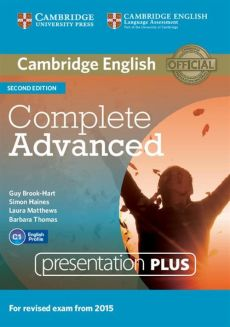 Complete Advanced Presentation Plus DVD - Guy Brook-Hart, Simon Haines