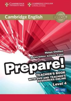 Cambridge English Prepare! 4 Teacher's Book + DVD and Teacher's Resources Online - Helen Chilton